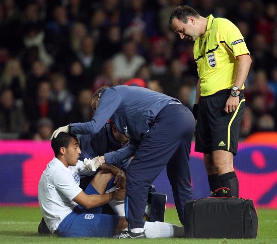 Walcott klev av skadad kan missa avgorandet