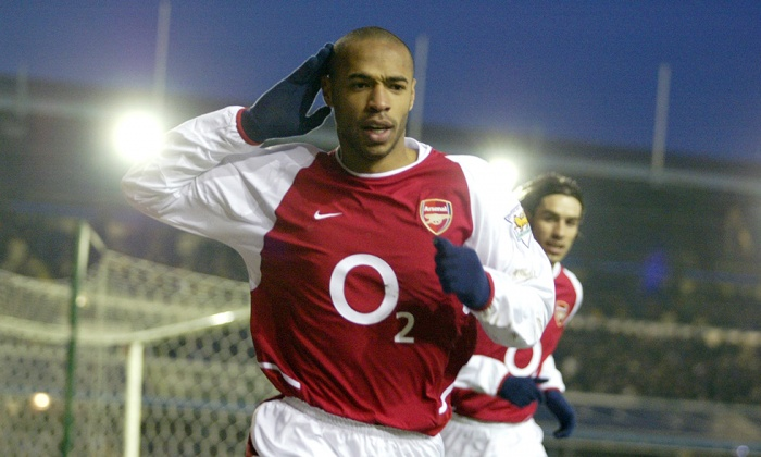 Thierry henry arets spelare